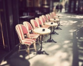 Mini Cafe Chairs - Fine Art Photography (6 x 9 print)