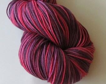 POSH Merino, cashmere, nylon fingering yarn, Nikki