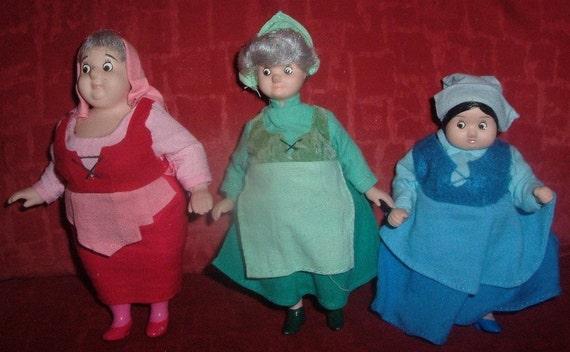 Porcelain Sleeping Beauty Fairies