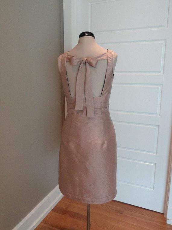 Retro pencil dress, pink