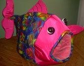Multi-colored fish/ Pink Headed Fish