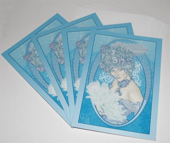 Christmas / Yule Cards - The Frost Fairy