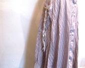 Pink and Purple Gunne Sax Skirt / Precious Prairie Girl