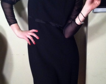 90s Talbots I Want to Dance With Somebody Little Black Dress