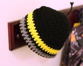 USMA West Point cadet issue skullcap, crochet replica