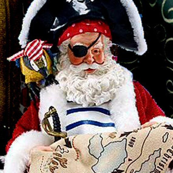etsy banner - christmas, a pirate christmas, arghhhh