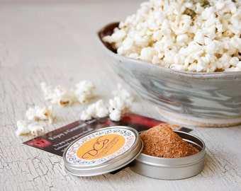 Gourmet popcorn spices - delicious popcorn seasoning for your snack craving, movie night or foodie gift