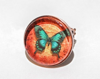 Butterfly Ring Copper
