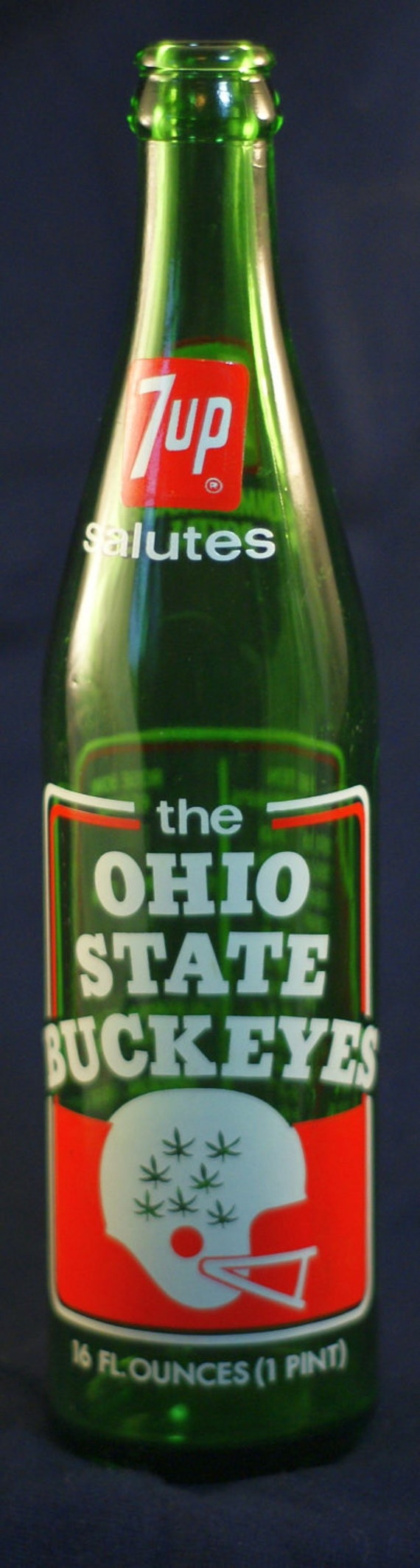 7 UP salutes the Ohio State Buckeyes Bottle.