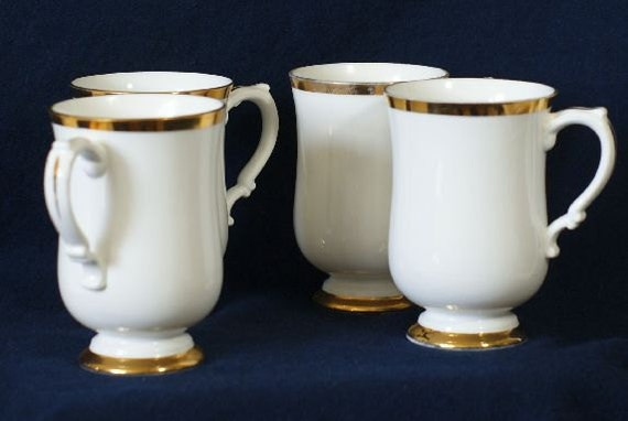 Royal Victoria Mugs, Coffee Cups, Footed, ROV6