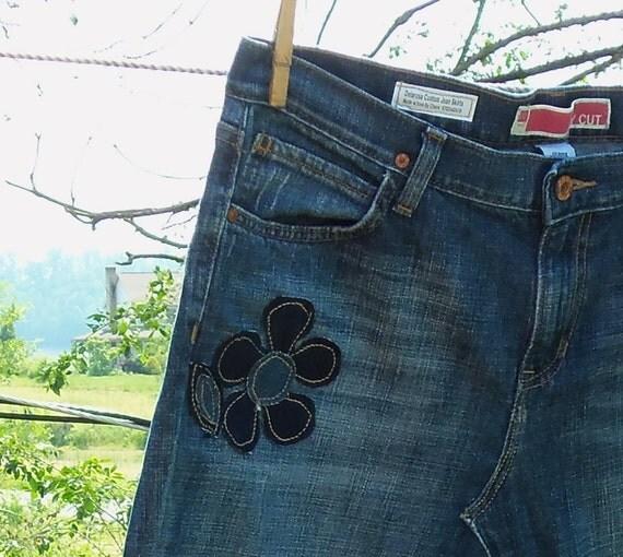 DELAROSA Custom Flower Appliqué's for your jean skirt (add on item only)
