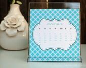 2013 Calendar - Printable DIY Calendar by anna and blue paperie
