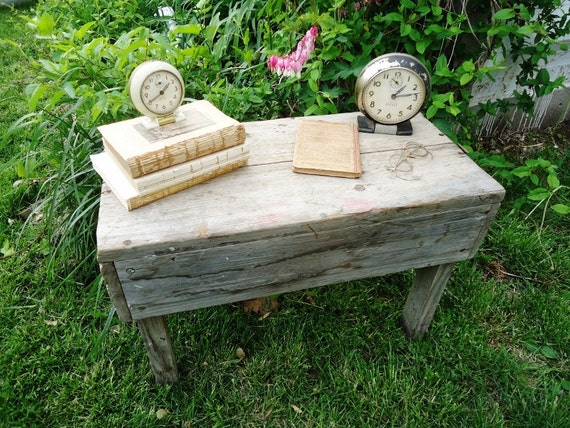 Rustic Wooden Bench - Patio, Porch or Entryway Bench or Display