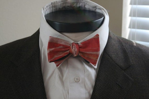 The Gammon - Our cotton bowtie in BACON