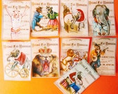 Vintage Circus Wafer Paper for your Cookies, fondant, cakes and chocolates
