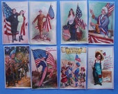 July 4th Independence Day Edible Image Wafer Paper for your cookies, fondant, cakes or chocolate