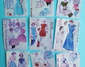 Vintage Sewing Pattern Edible Image Wafer Papers for your iced cookies, cakes, and baked treats.