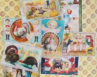 Colorful Thanksgiving Edible Image Paper-8 images