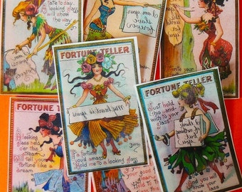 Fortune Teller Edible Image Wafer Papers from Queen of Tarts Cakes