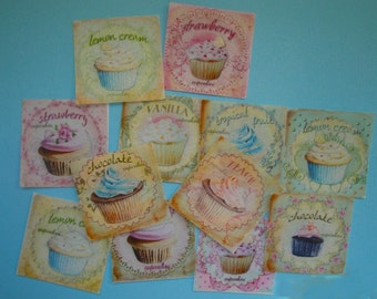 Sweet Cupcake Edible Image Wafer Papers