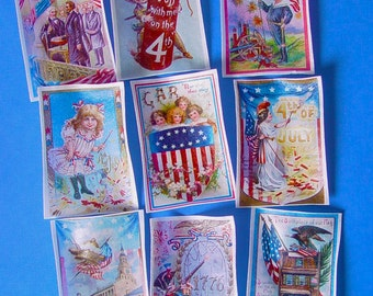 July 4th edible Image wafer papers for your cookies, fondant, cakes and chocolates