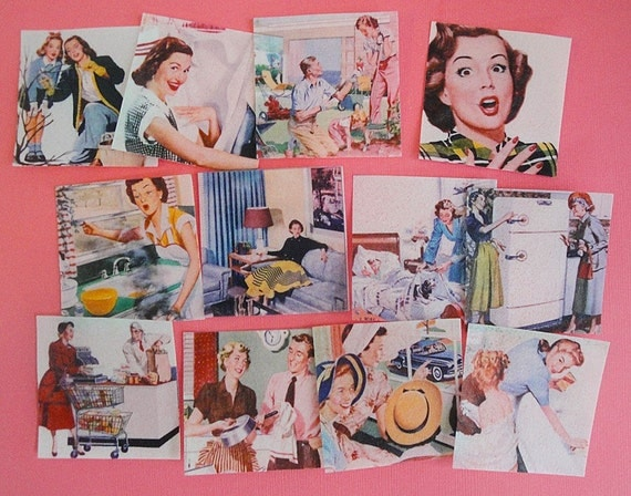 Mothers Day Vintage Mom Edible Image wafer paper 1 doz