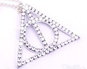 Deathly Hallows Swarovski Crystal Necklace