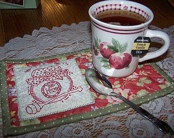 Honey Pot Mug Rug Pattern
