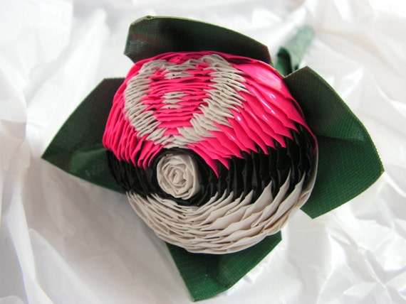 Love Pokeball Duct Tape Rose