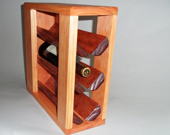 Wine Rack     ( 3-bottle )