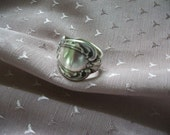 Ring made from silverware