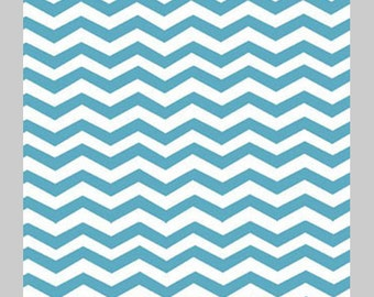 Monaluna Organic Cotton Fabric - Chevron by Jennifer Moore -  1 Yard