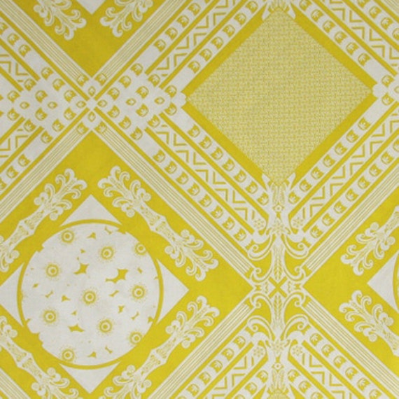 Anna Maria Horner - LouLouThi - FRAMED in Citron AH-41 - 1 Yard Fabric