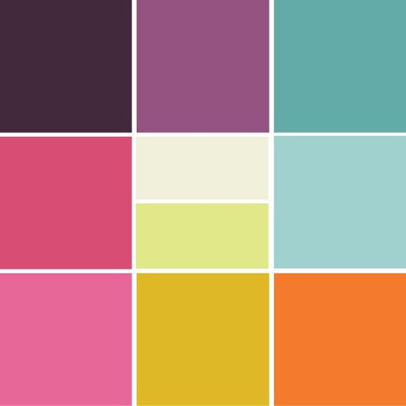 Art Gallery Fabric - Pure Elements Solid Fabrics - Fat Quarter Bundle - Patricia Bravo