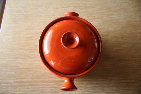 Funky Orange Baking Dish