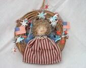 Vintage Americana Wreath