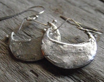 sterling silver moroccan style earrings
