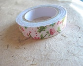 Floral patterned fabric tape