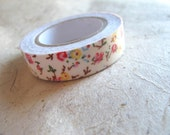 Mixed Floral Patterned Fabric tape