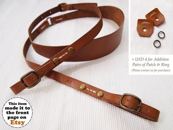 Photographer Gift Personalized Leather Camera Strap Leather