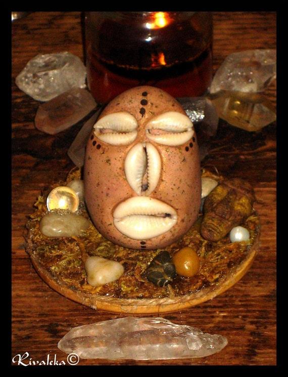 Orisha Elegua Elegba Eshu Head God Of Crossroads Fate And