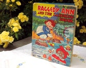 Childrens Book, Raggedy Ann and The Laughing Brook, Fairytale Vintage 1940 First Edition