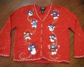 Tacky Christmas Sweater- Size PM