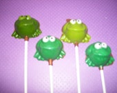 Frog Lollipops
