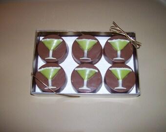 Chocolate Margarita Oreos