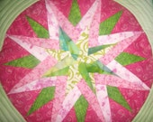 Mariners Compass Candlemat(free Shipping)
