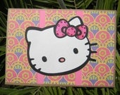 Hello Kitty Any Occasion -  Birthday - Thank You - Friendship - Miss You - Thinking of you - Just to say hello  Card