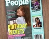 People Magazine Cover - You Print