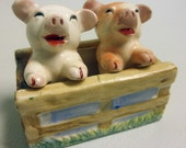 Two Little Piggies Salt and Pepper Shakers