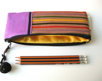 Modern Calligraphy brush case Pencil case Jordan stripes